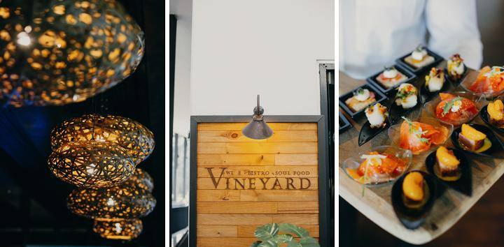 Vineyard Hortpark intimate wedding
