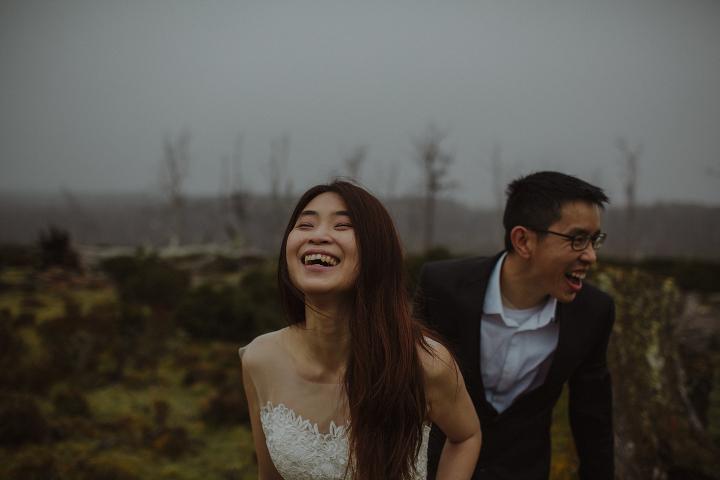 Tasmania Wedding Photographer - Cradle Mountain Engagement Session-6