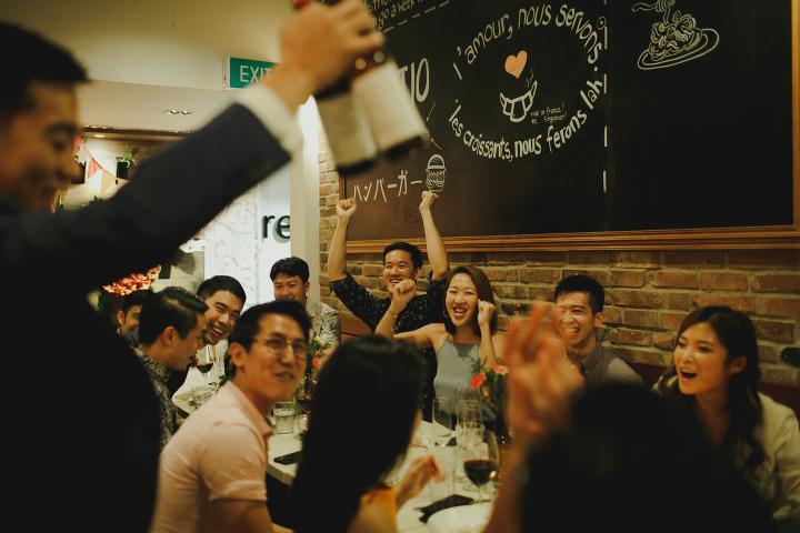 Relish Wild Rocket Wedding - Singapore Wedding Photographer-79